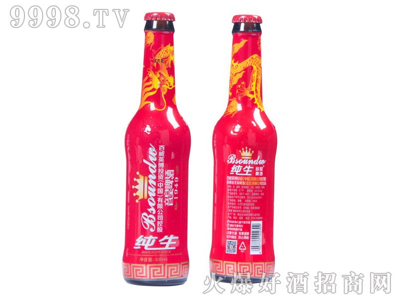 百威英博・音皇纯生啤酒