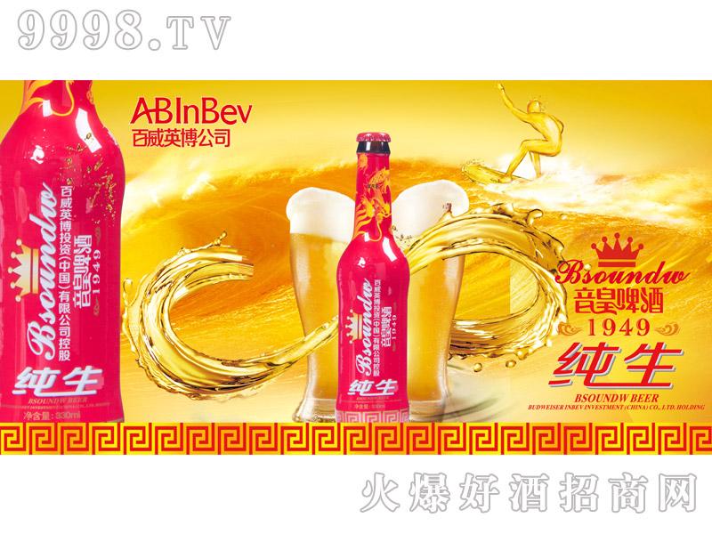 百威英博・音皇纯生啤酒海报1