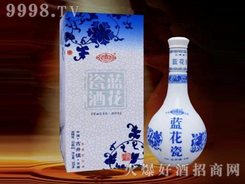 进贡坊蓝花瓷酒