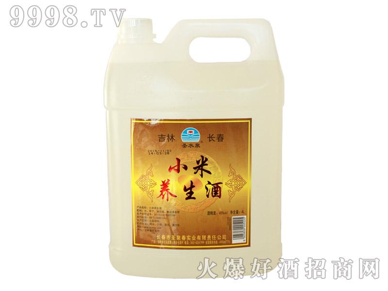 圣水泉小米养生酒45度4Lx4