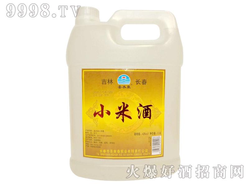 圣水泉小米酒42度3.6Lx4