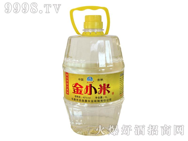 圣水泉金小米酒42度2Lx8