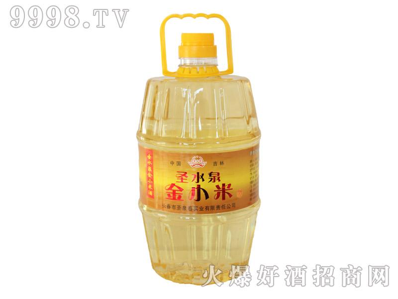 圣水泉金小米酒42度4Lx4