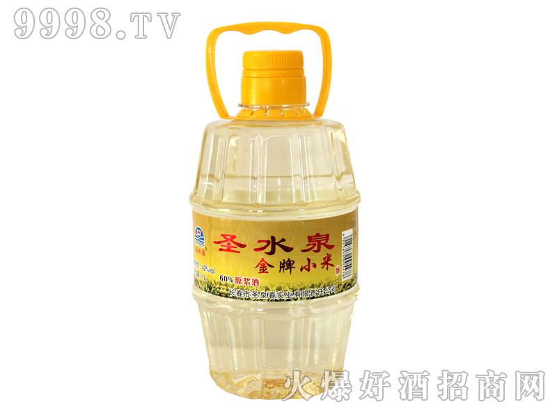 圣水泉金牌小米酒42度1Lx12