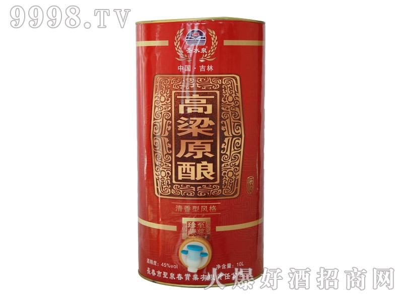 圣水泉高粱原酿酒45度10Lx2