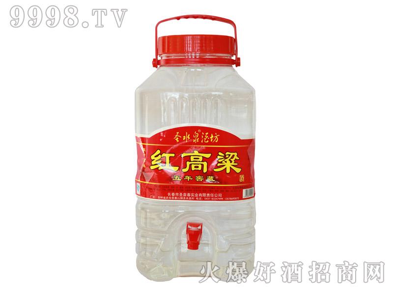 圣水泉红高粱窖藏酒44度10L