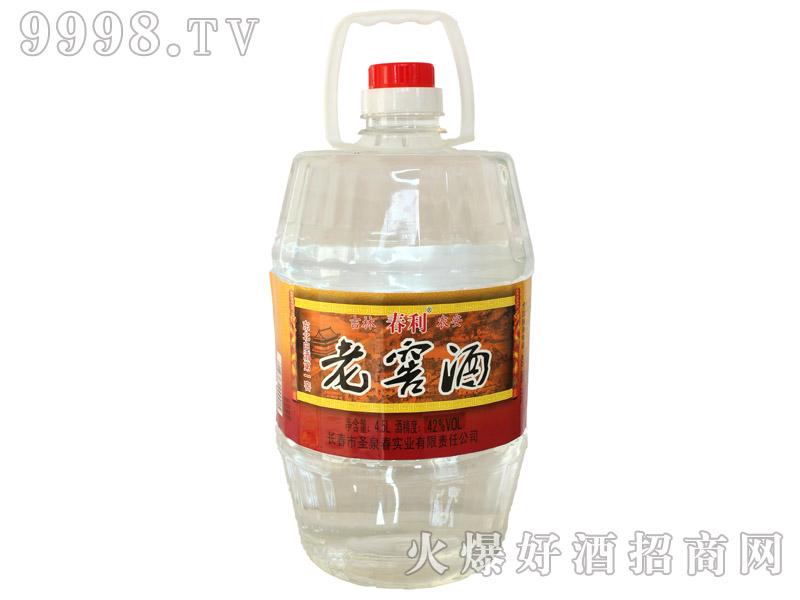 春利老窖酒42度4.5Lx4