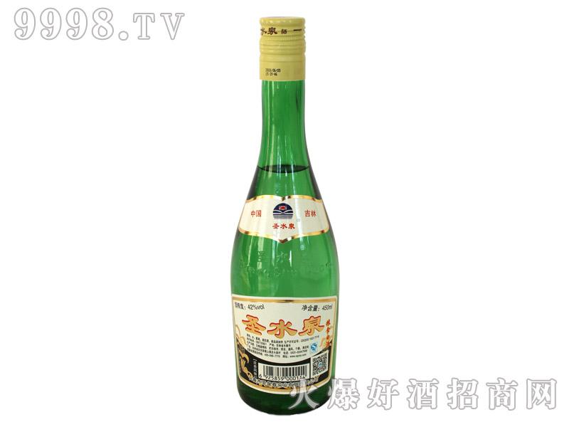 圣水泉粮食白酒42度450mlx12