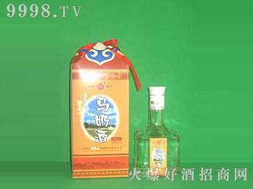 牧马人迎宾马奶酒(黄盒)
