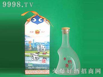 牧马人四角蒙古包精品奶酒