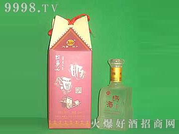 牧马人四角蒙古包精品奶酒(红盒)
