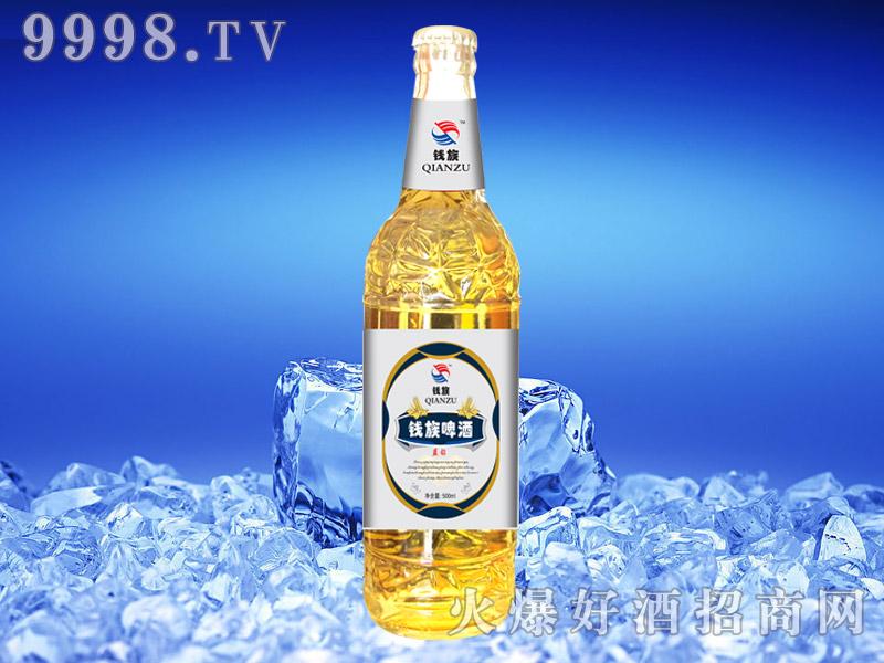 钱族蓝钻啤酒500ml