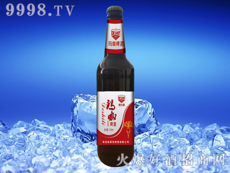 德仕利玛咖啤酒500ml(红标)