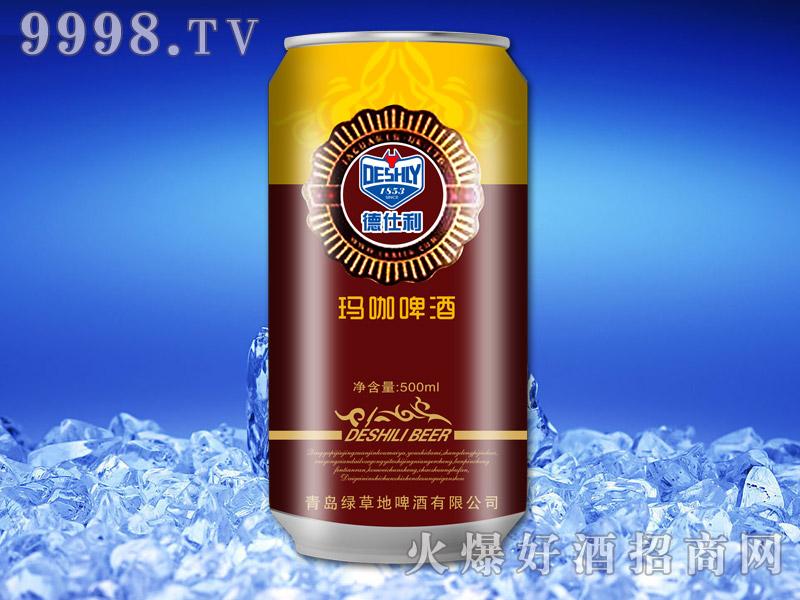 德仕利玛咖啤酒500ml(罐棕色)