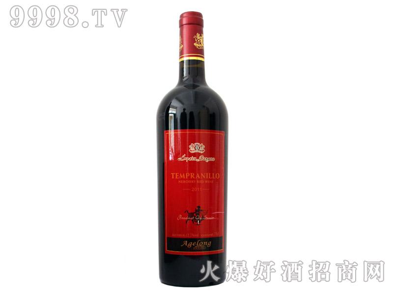 西班牙安吉路添普兰尼洛干红葡萄酒2011
