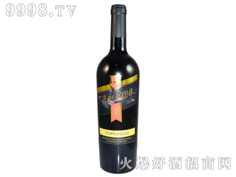 西班牙安吉路添普兰尼洛干红葡萄酒2001