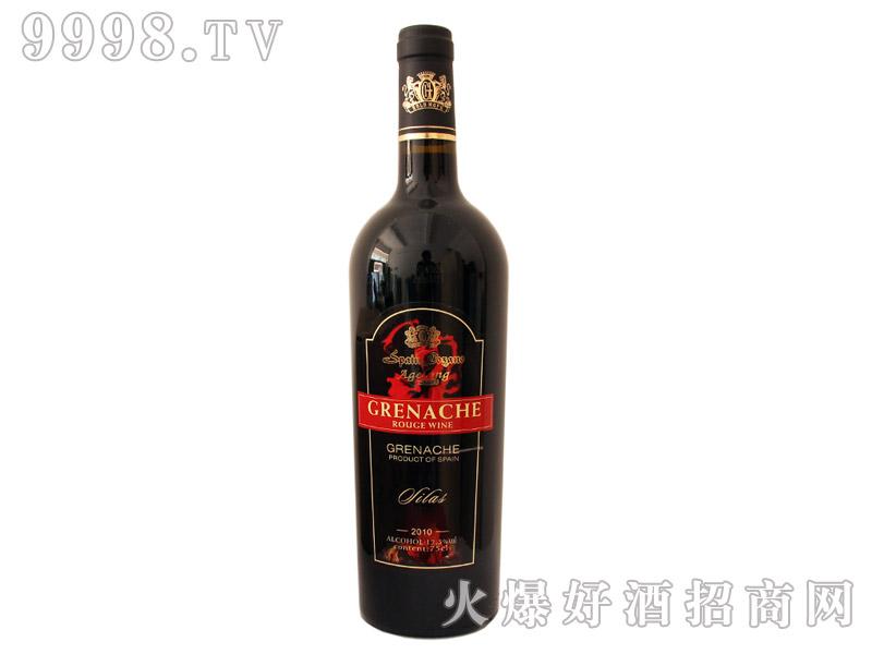 西班牙安吉路歌海娜干红葡萄酒2010