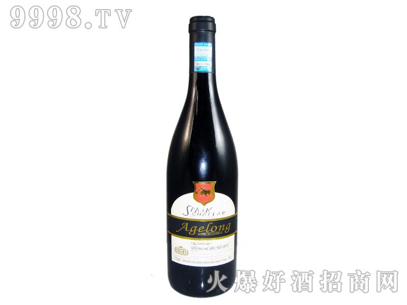西班牙安吉路歌海纳干红葡萄酒2005