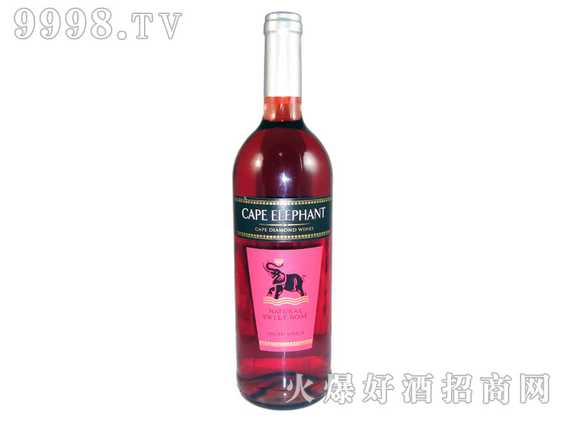 开普大象芳香桃红葡萄酒750ml