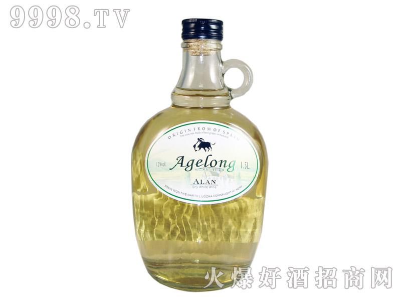 西班牙安吉路艾伦干白葡萄酒1.5升