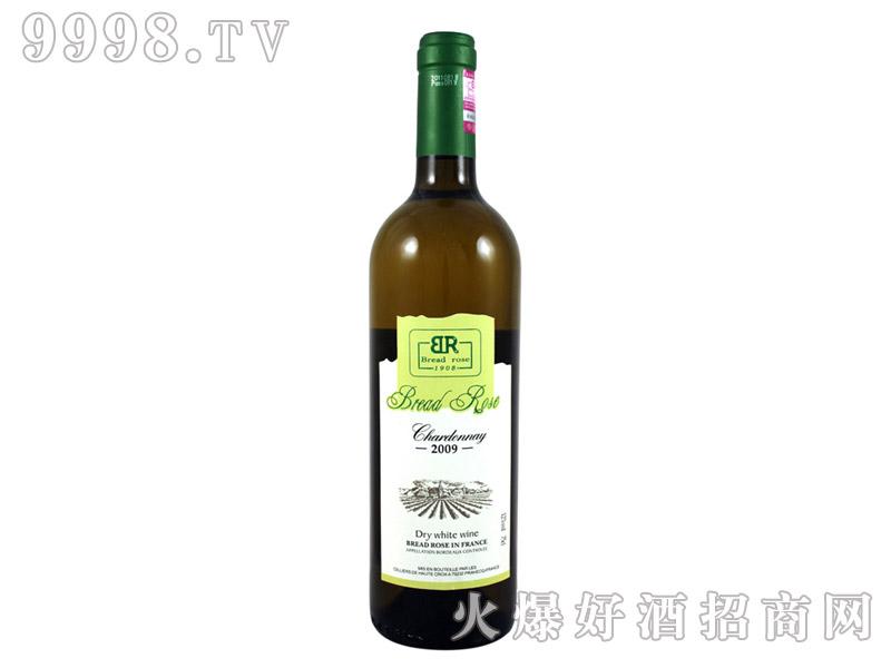 法国布莱德洛斯霞多丽干白葡萄酒2009