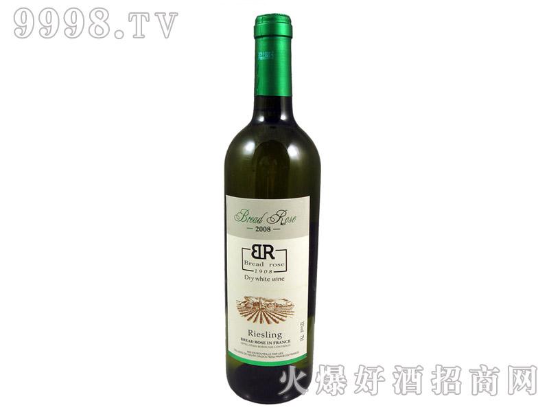 法国布莱德洛斯雷司令干白葡萄酒2008