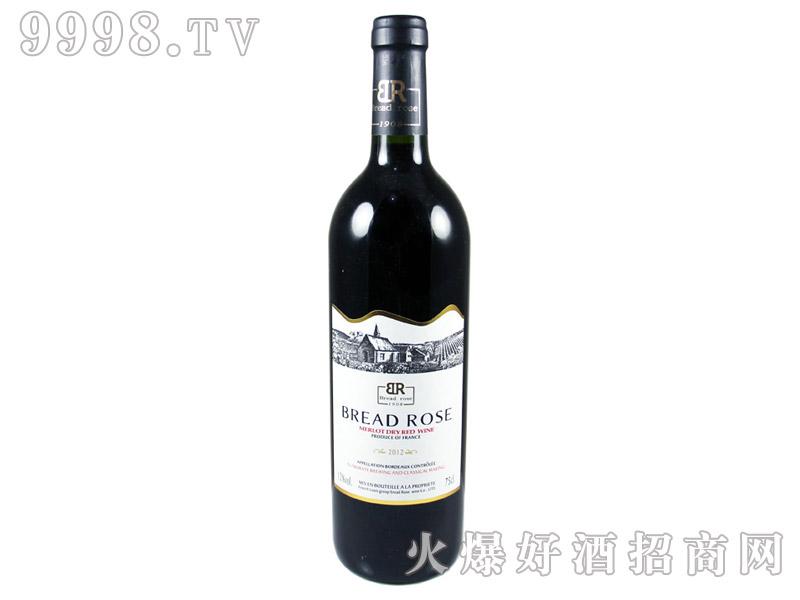 法国布莱德洛斯AOC梅鹿辄干红葡萄2002