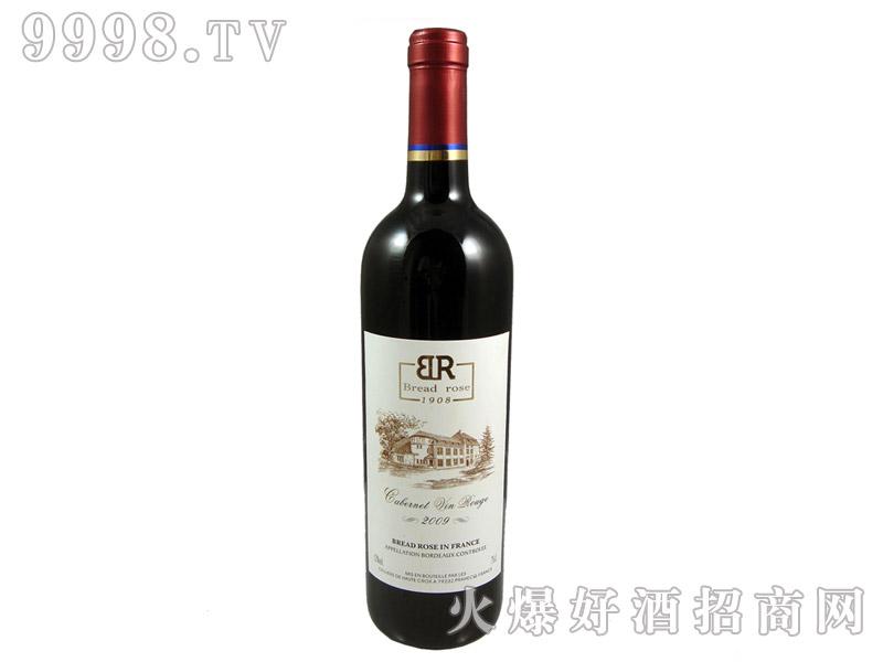 法国布莱德洛斯AOC解百纳干红葡萄酒2009