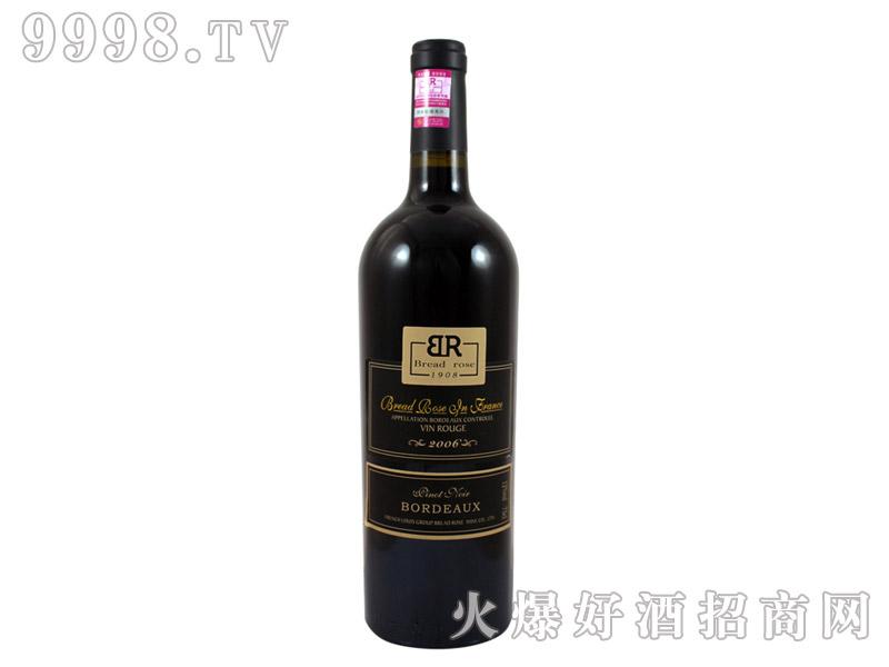 法国布莱德洛斯AOC黑比诺干红葡萄酒2006