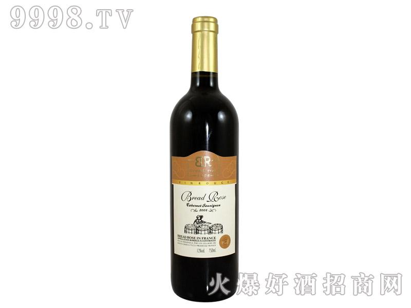 法国布莱德洛斯AOC赤霞珠干红葡萄酒2008