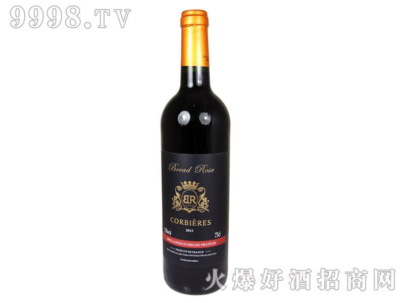 法国布莱德洛科比埃干红葡萄酒2013
