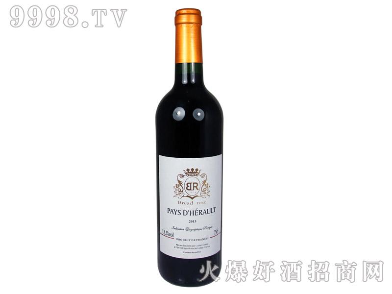 法国布莱德洛埃罗干红葡萄酒2013