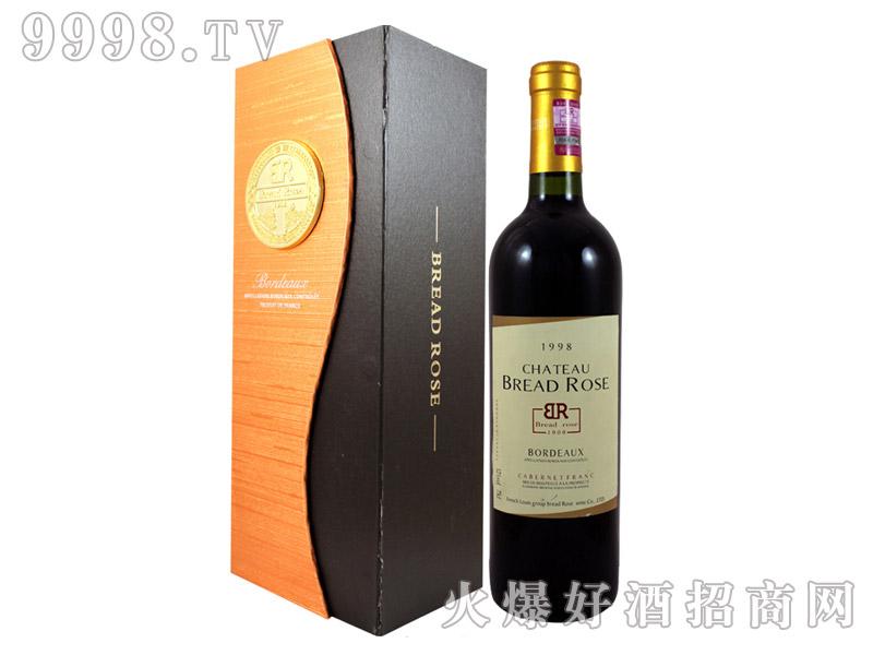 布莱德洛斯品丽珠AOC干红葡萄酒1998