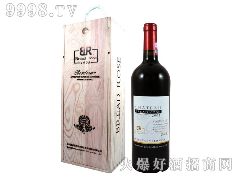布莱德洛斯AOC梅鹿辄干红葡萄酒2002