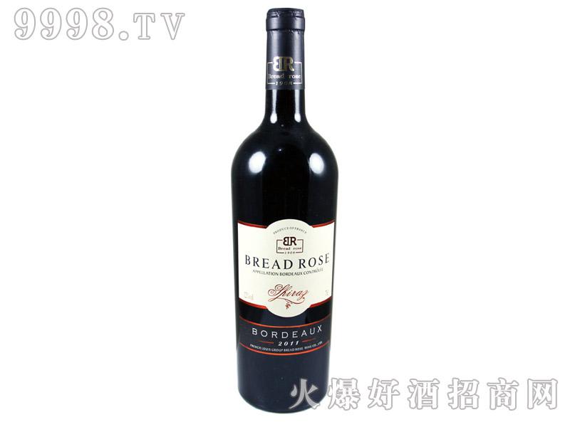 法国BreadRose赤霞珠干红葡萄酒2010