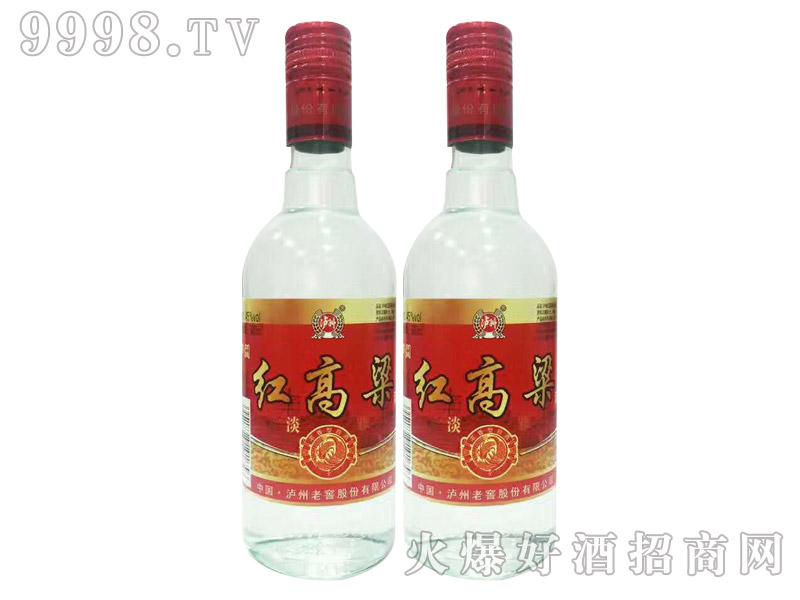 泸州红高粱酒・淡雅45度500ml