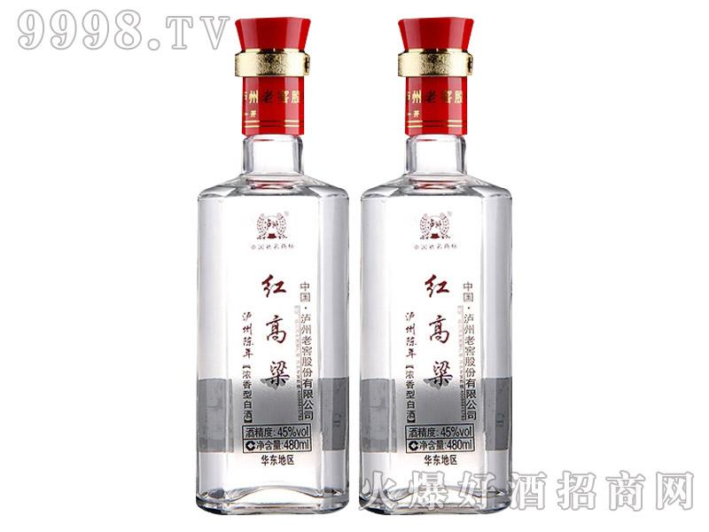 泸州陈年红高粱酒45度480ml