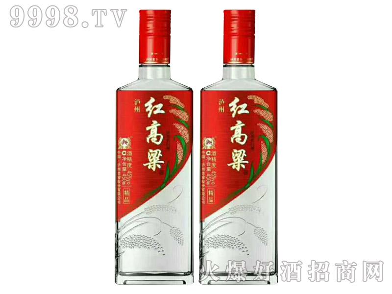 泸州精品红高粱酒42度450ml