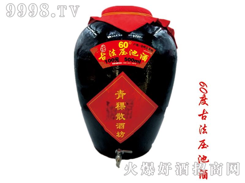 青稞散酒坊60度古法压池酒
