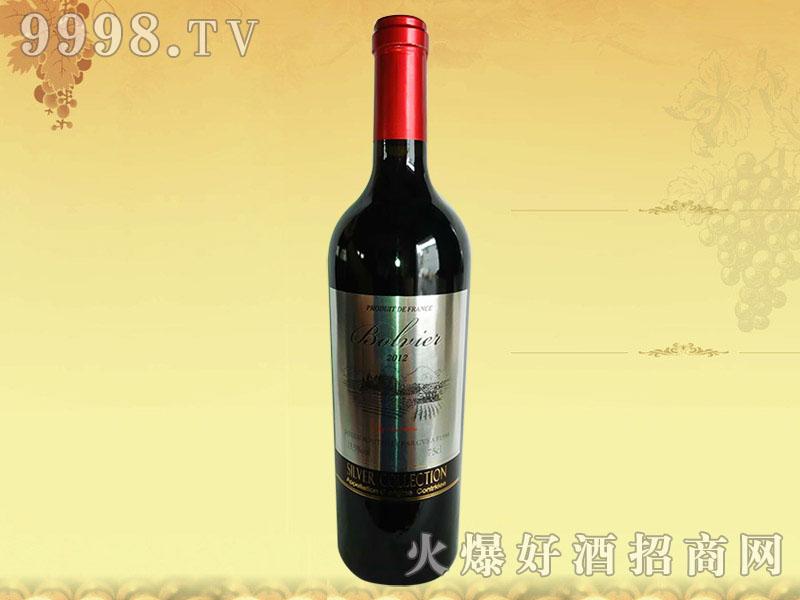 法国波尔维尔干红葡萄酒2012