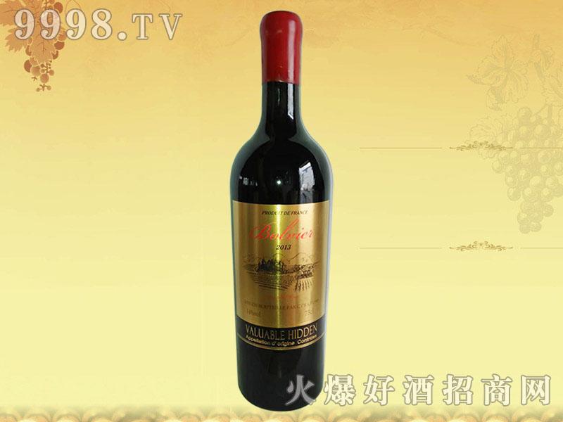 法国波尔维尔干红葡萄酒2013-红酒招商信息
