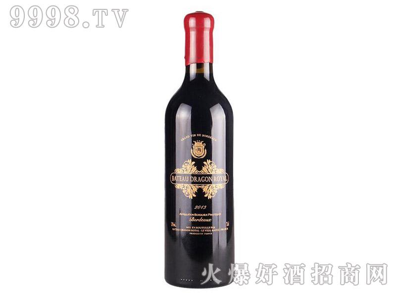 新皇家龙船烤花轮机长干红葡萄酒-红酒招商信息
