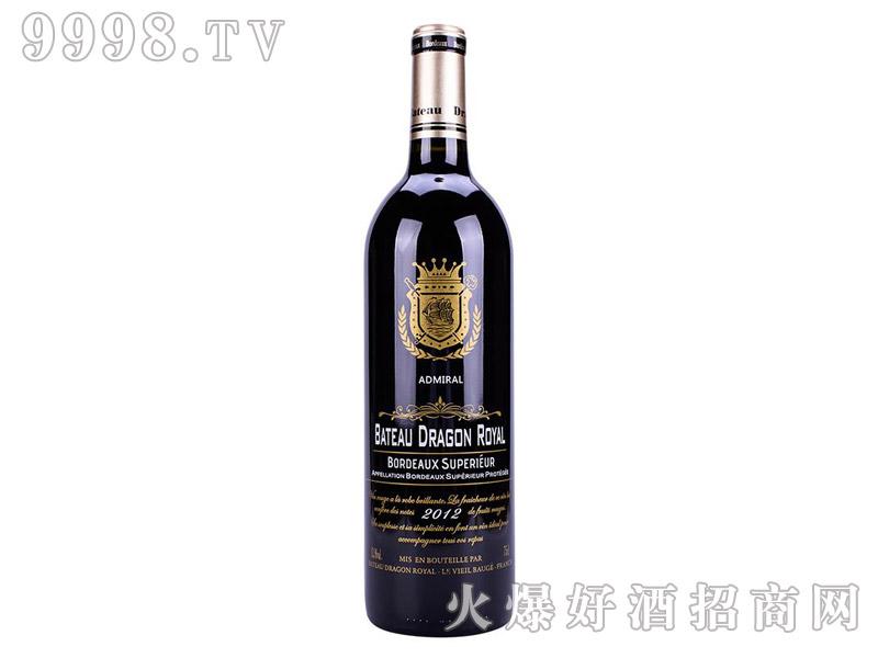 皇家龙船干红葡萄酒2012(大将军)-红酒招商信息