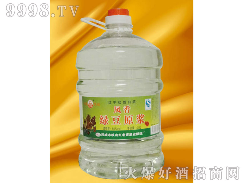 凤城绿豆原浆4L