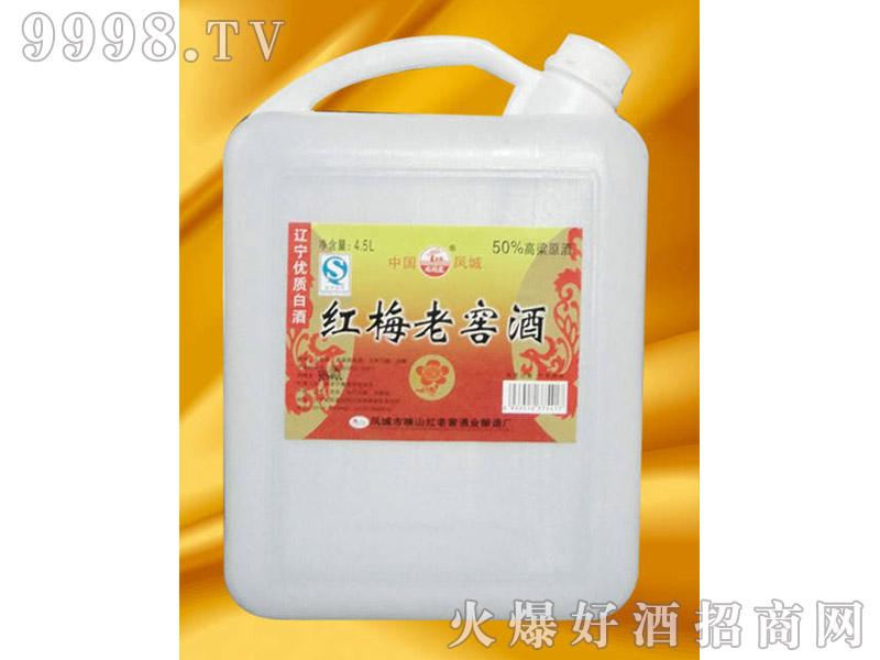 凤城红梅老窖酒4L
