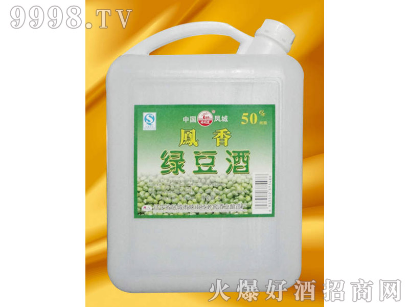 凤城绿豆酒4L
