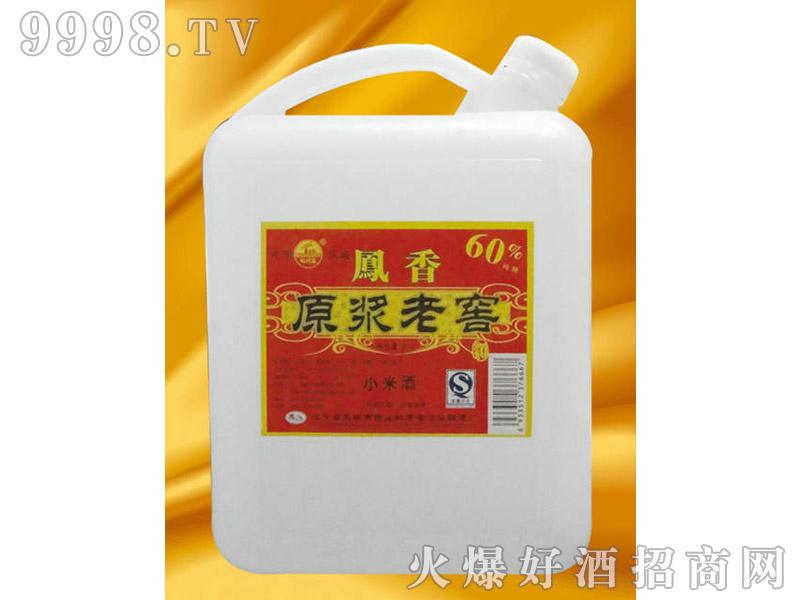 凤城原浆老窖酒(红)4L
