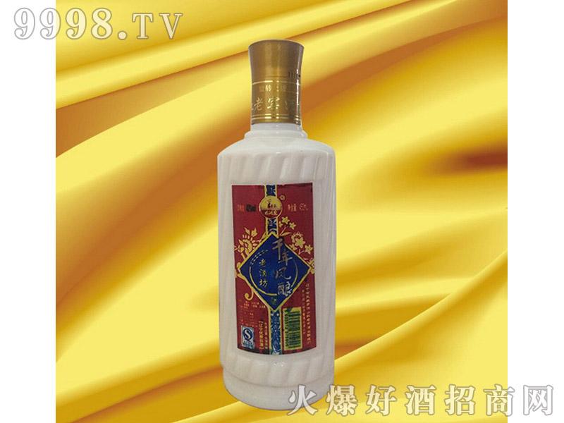凤城千年凤酿(圆瓷瓶)
