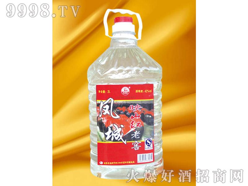 凤城映山红老窖3L酒