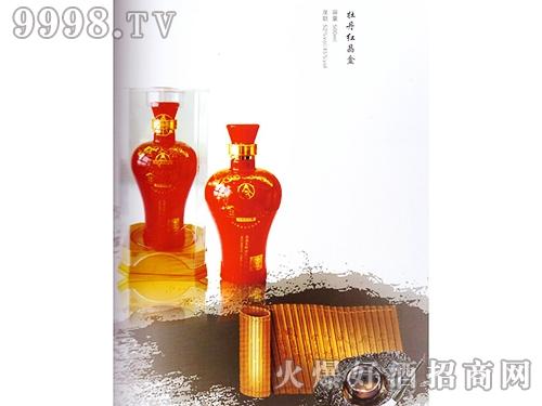 金谷春酒牡丹红晶盒